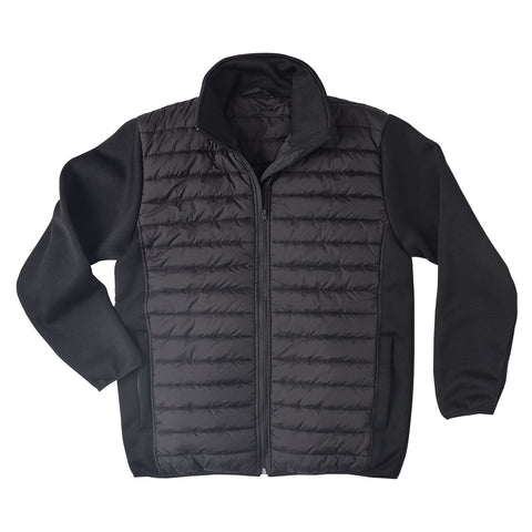 Brahma Vantage Corporate Padded Winter Jacket - Black