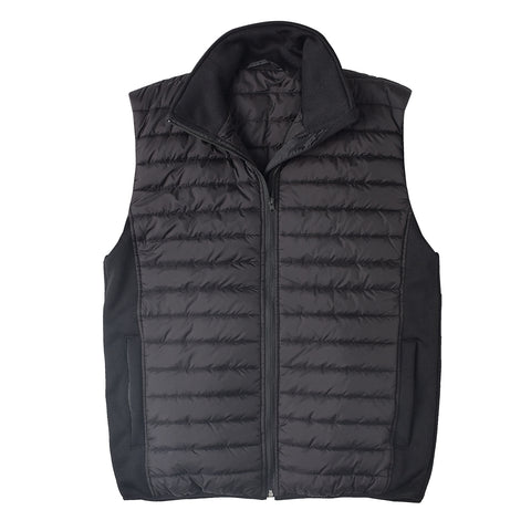 Brahma Vantage Corporate Padded Winter Vest - Black