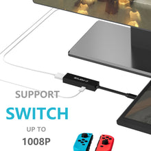 C-Force Nintendo Switch HDMI Adapter - Smallest HDMI solution available, truly portable! Fits in your pocket or slim Switch case!