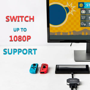C-Force USB C HDMI Hub for Nintendo Switch
