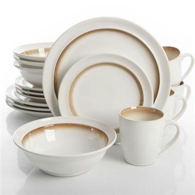 Ge Lawson Dnrwr White Brwn 16pc