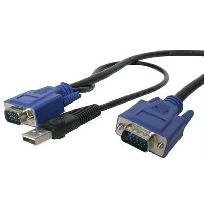 10' USB 2in1 Kvm Cable