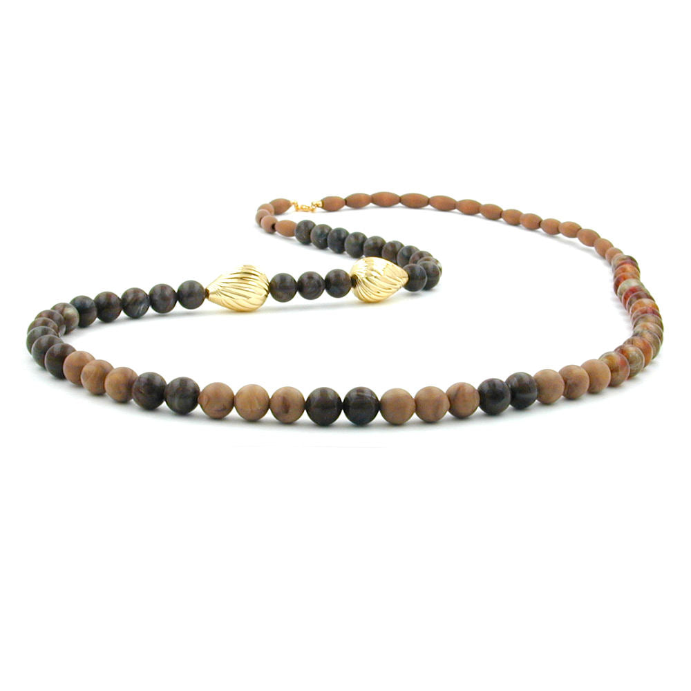 necklace brown/black tones great design