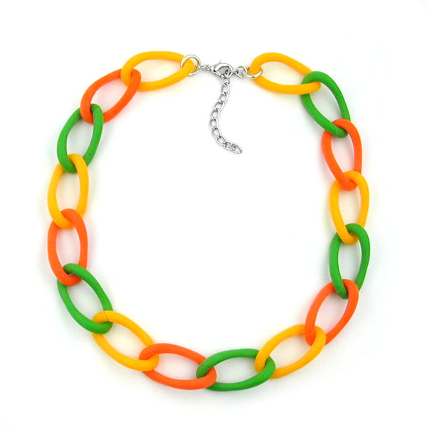 necklace open curb chain