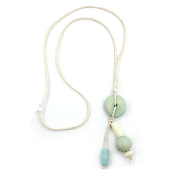 necklace pastel-shade beads