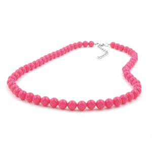 Bead Chain Rose-Pink 8mm
