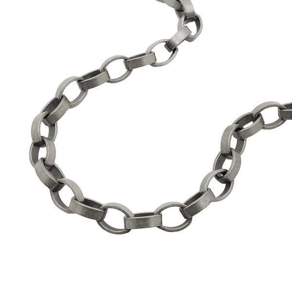 Anchor Chain Tombac Antique Silver