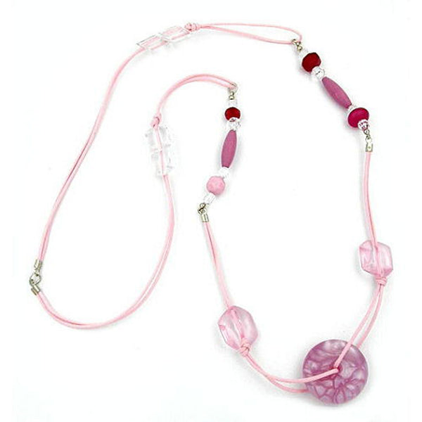 necklace pillowwhel rose flossy shine