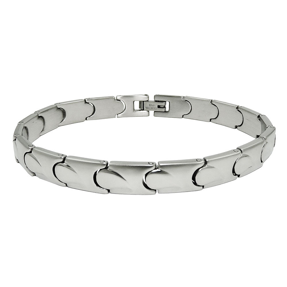 bracelet 19 links stainless steel