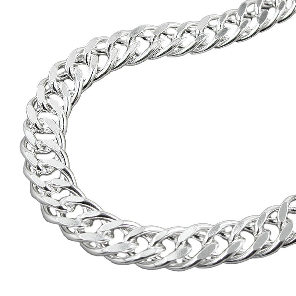 Double Rombo Chain Silver 925