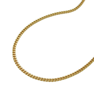 Curb Chain 2x Diamond Cut 8ct gold
