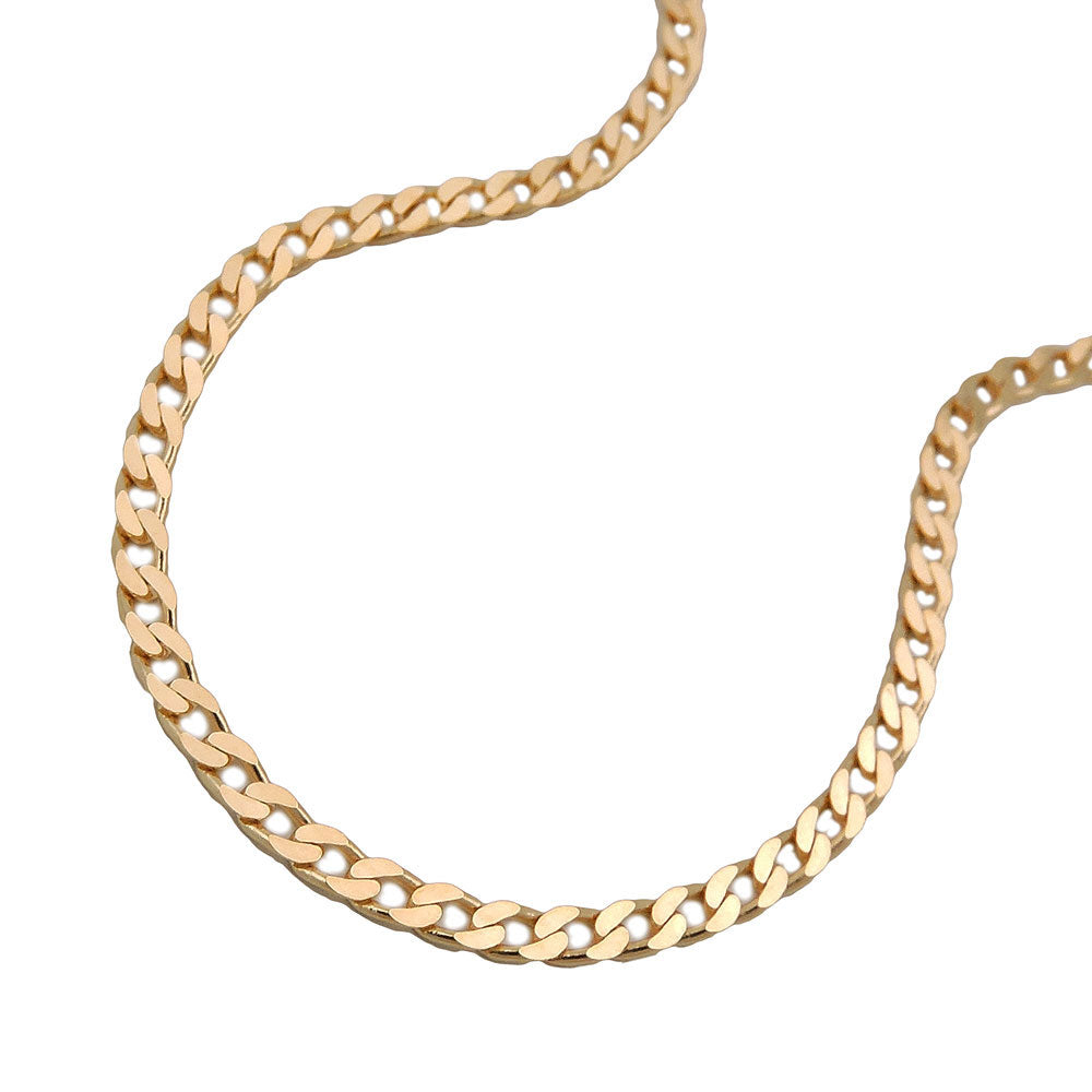 Open Curb 14ct gold