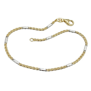 bracelet mariner chain 19cm 9k gold