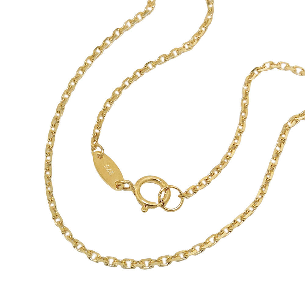 necklace anchor chain 45cm 9k gold