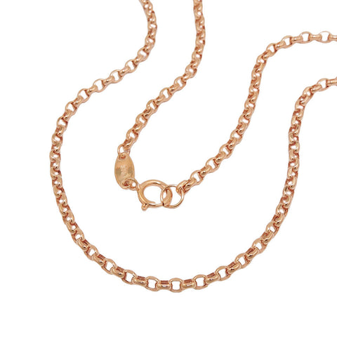 necklace anchor chain 45cm 9k redgold