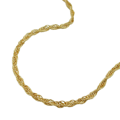 Twisted Anchor Chain 14ct gold