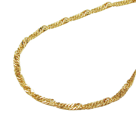 Singapore Chain 14ct gold