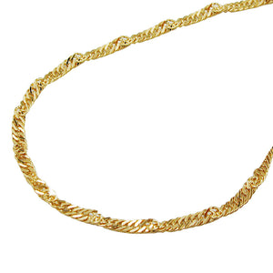 Singapore Chain 9ct gold