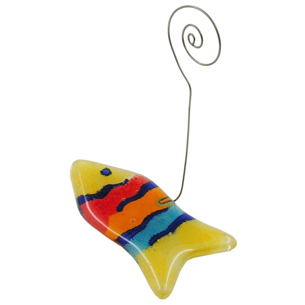 memo holder fish multi-coloured