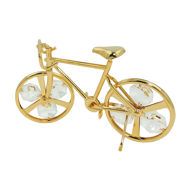 track bicyle with crystal elements