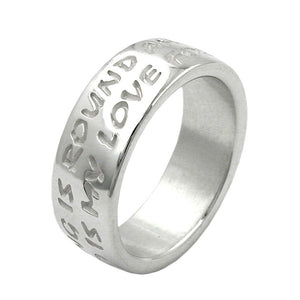 Ring 'Love Has No End' Silver 925