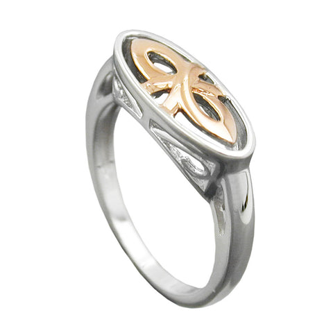 Ring Redgold-Plated Silver 925
