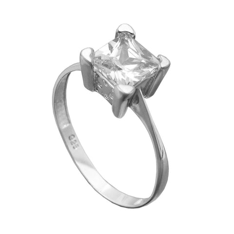 Ring with Zirconia Silver 925
