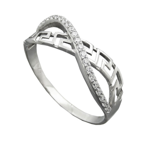 Ring with Zirconias Silver 925