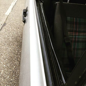 VW Scirocco mk2 window scraper seals