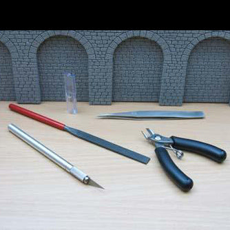 4pc Modelmakers Tool Kit in Wallet
