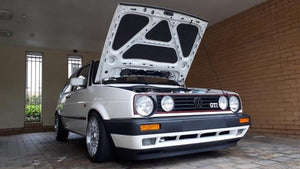 VW Golf Mk2 bonnet lining