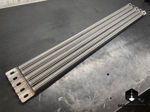 vw golf mk1 scirocco mk1 scirocco mk2 strut brace stainless steel vw a1 chassis