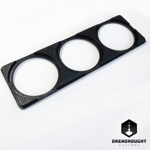 Gauge surround triple Black finish
