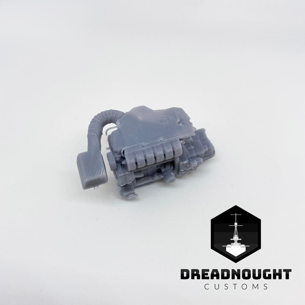 12V VR6 resin engine