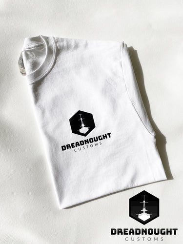 Dreadnought Logo T-Shirt White