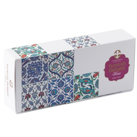 Turkish Delight Rose 330g by Connoisseur Collection