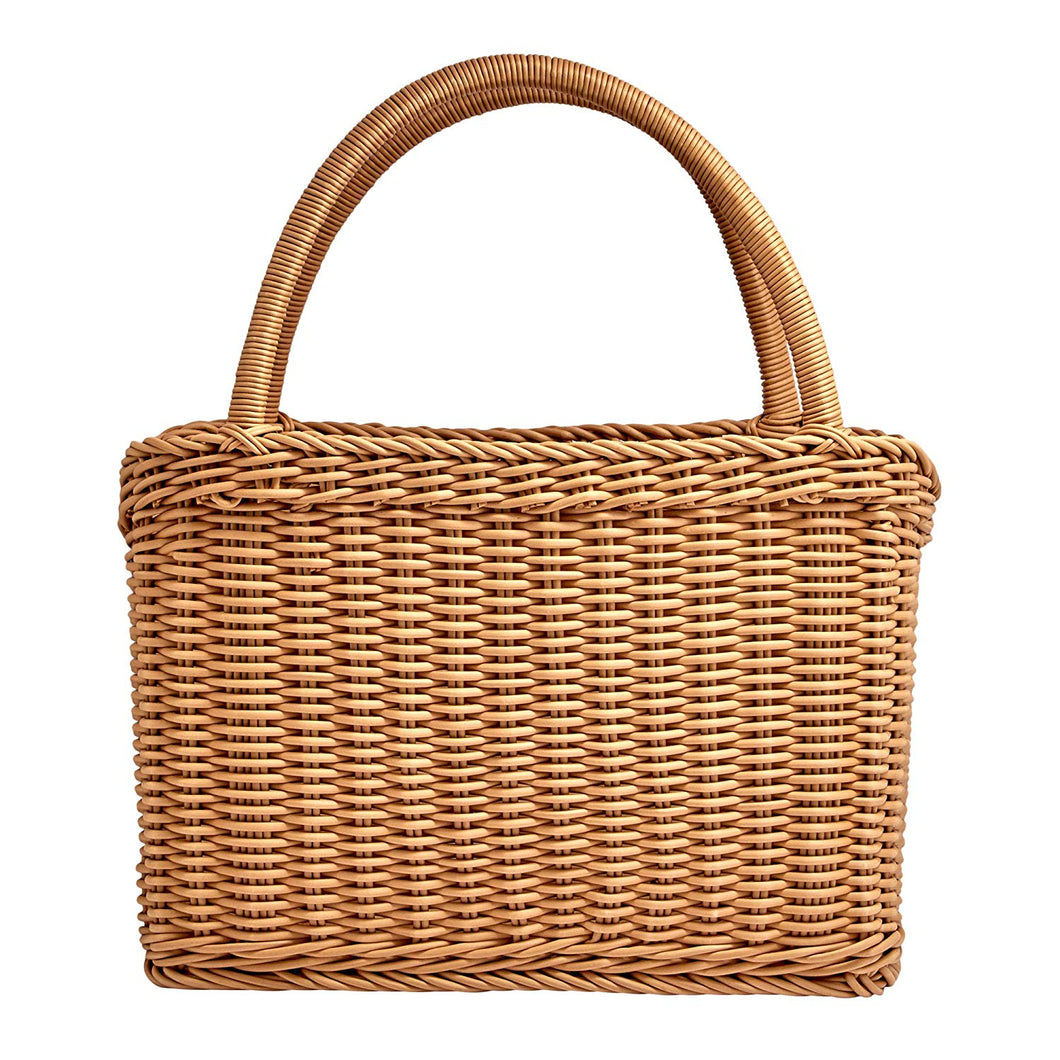 Icon Chef Hand-Woven Carry Basket  - Natural