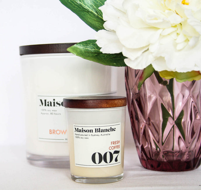Maison and Blanche Candle Medium