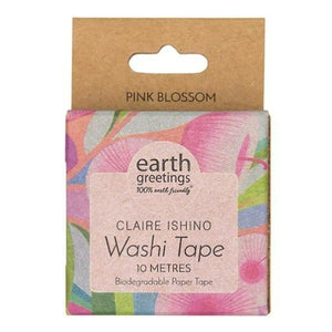 Claire Ishino (Pink Blossom) Washi Tape by Earth Greetings