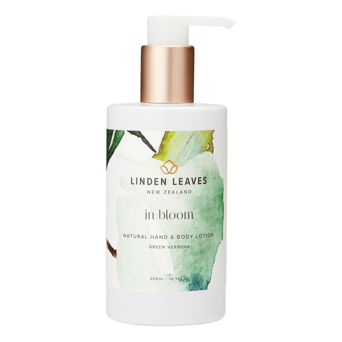 Green Verbena Hand and Body Lotion 300ml by Linden Leaves