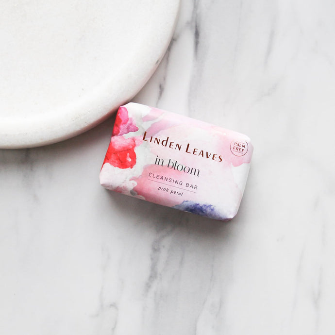 Pink Petal Cleansing Bar by Linden Leaves