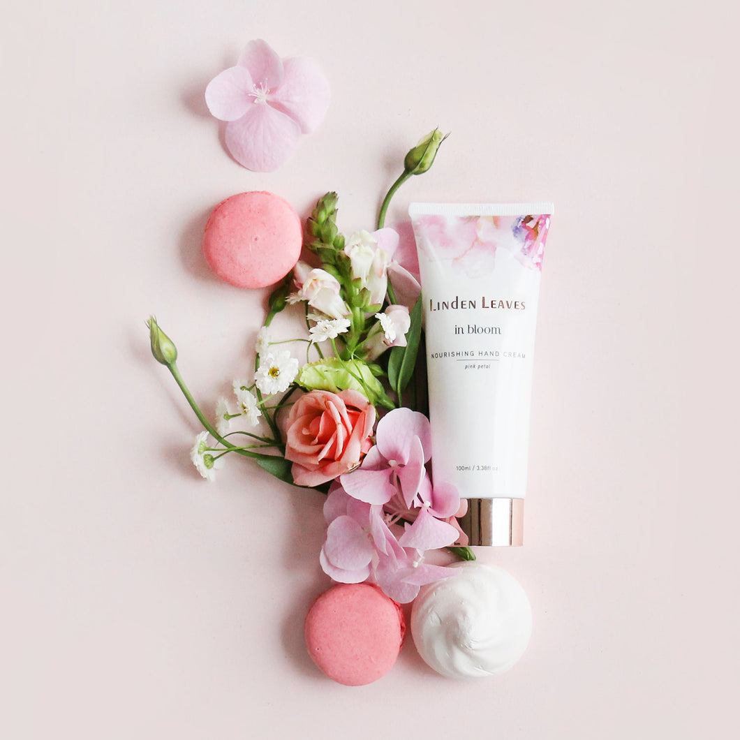 Pink Petal Hand Cream by Linden Leaves