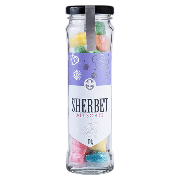 Sherbet Allsorts 110g by Connoisseur Collection