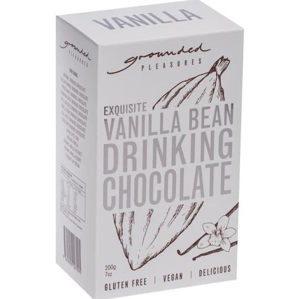 Grounded Pleasures Vanilla Bean Drinking Chocolate 200gm