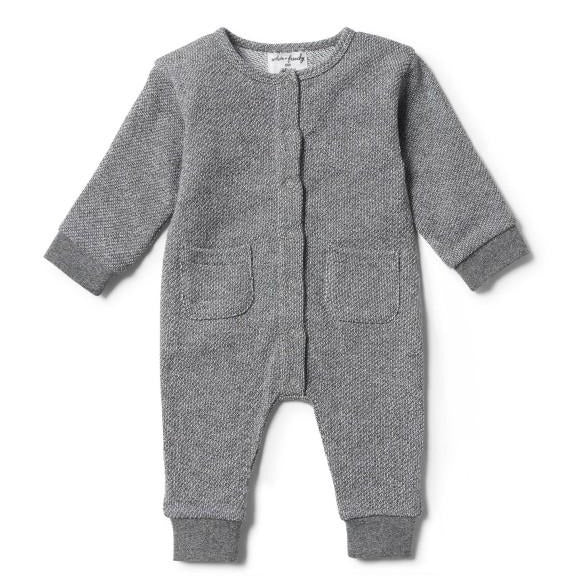 Slouch Grow Suit - Looped Melange -  by Wilson and Frenchy
