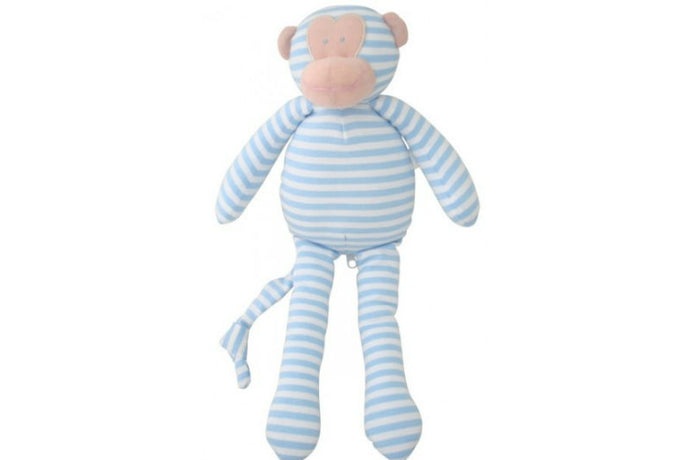 Alimrose Musical Monkey - Light Blue
