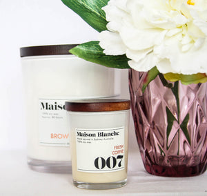 Maison and Blanche 80 hour Candle