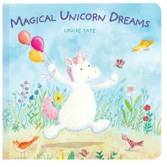 Magical Unicorn Dreams Board Book by Jellycat