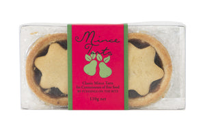 Two pack Fruit Mince Pies 110 grams by Puddings on the Ritz