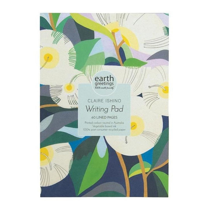 Lemon Scented Gum Writing Pad by Earth Greetings